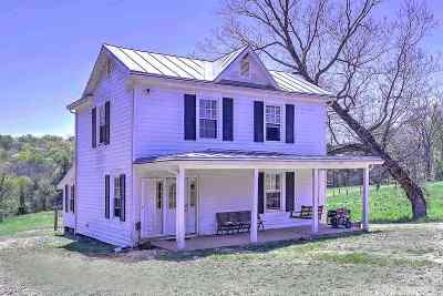 Scottsville VA Single Family Home For Sale: $375,000