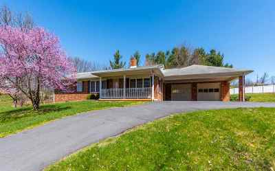 Fishersville Single Family Home For Sale: 672 Ladd Rd