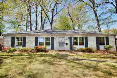 Charlottesville Single Family Home For Sale: 1603 Trailridge Rd