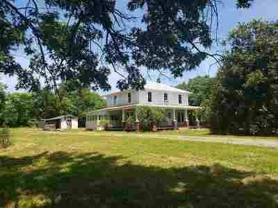 Fluvanna County Single Family Home For Sale: 1817 Bybee Rd