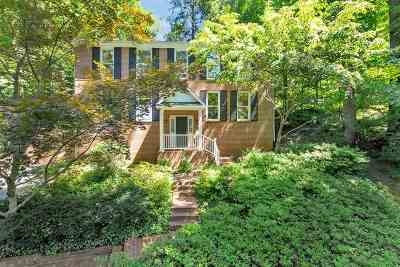 Charlottesville  Single Family Home For Sale: 1320 Hilltop Rd