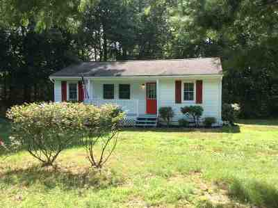 Single Family Home Pending: 2819 Mountain Hill Rd
