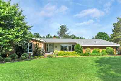 Albemarle County Single Family Home Pending: 705 #Winding