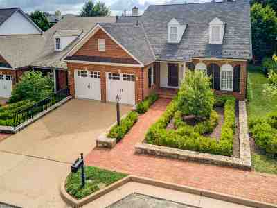 Albemarle County Townhome For Sale: 834 Colridge Dr