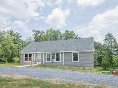 Rockingham County Single Family Home For Sale: 3853 Bloomer Springs Rd