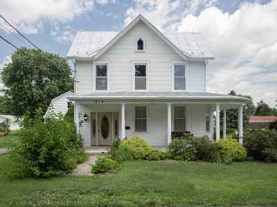 Rockingham County Single Family Home For Sale: 214 W College St