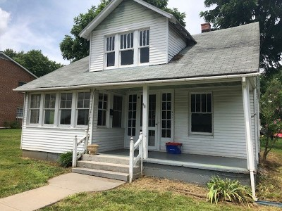 Staunton VA Single Family Home For Sale: $121,111