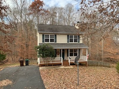 Fluvanna County Single Family Home For Sale: 219 Jefferson Dr