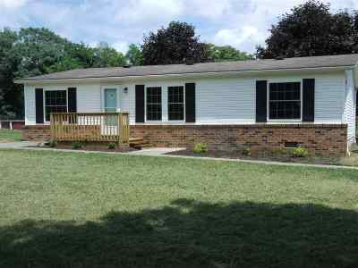 New Market Single Family Home For Sale: 2498 New Market Depot Rd
