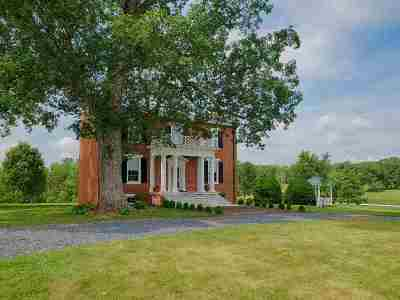 Scottsville Single Family Home For Sale: 391 Hardware Rd