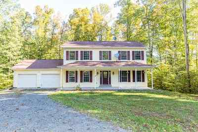 Louisa County Single Family Home For Sale: 398 Cedar Hill Trl