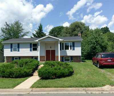 Staunton VA Single Family Home For Sale: $229,900