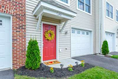Harrisonburg Townhome For Sale: 372 Tanzanite Dr