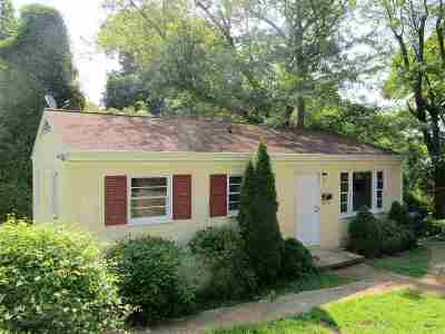 Charlottesville Single Family Home Active W/Kickout: 2228 Center Ave