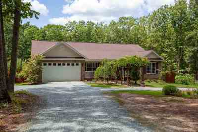 Buckingham County Single Family Home For Sale: 489 Brill Rd