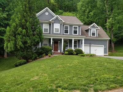 Charlottesville Single Family Home For Sale: 1378 Singleton Ln