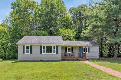 Buckingham County Single Family Home For Sale: 1120 Union Church Rd