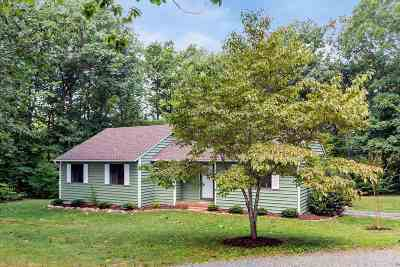 Scottsville Single Family Home For Sale: 2202 Martin Kings Rd