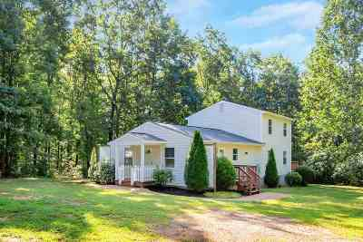Louisa County Single Family Home For Sale: 758 Lightwood Rd