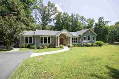 Charlottesville Single Family Home For Sale: 2908 Catlett Rd