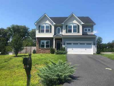 Fluvanna County Single Family Home For Sale: 12 Kendall Ct