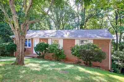 Charlottesville Single Family Home For Sale: 116 Shasta Ct