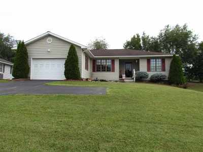 Bridgewater Single Family Home For Sale: 109 Price Dr