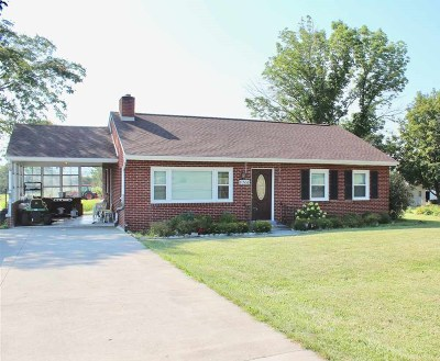Rockingham Single Family Home For Sale: 8206 N Valley Pike