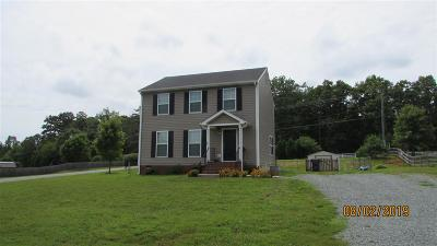 Fluvanna County Single Family Home For Sale: 54 Carriage Hill Rd