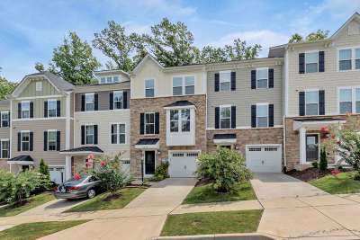 Charlottesville Townhome For Sale: 2054 Bethpage Ct