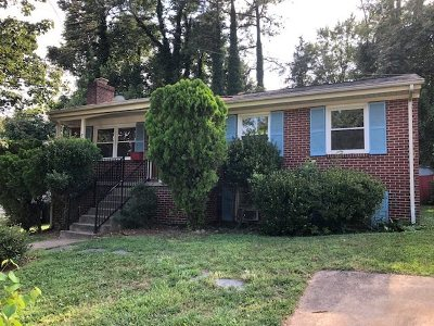 Charlottesville VA Single Family Home For Sale: $249,900