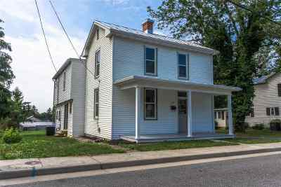 Harrisonburg Single Family Home For Sale: 339 W Water Street