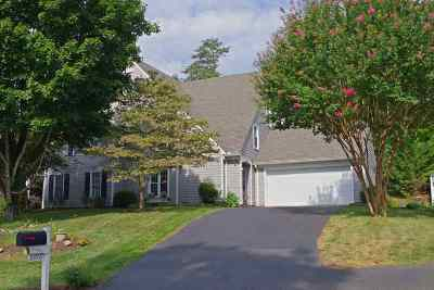 Charlottesville Townhome For Sale: 3396 Moubry Ln