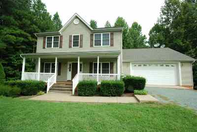 Fluvanna County Single Family Home For Sale: 4185 Venable Rd