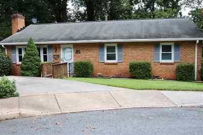 Charlottesville Single Family Home For Sale: 738 Lyons Ave