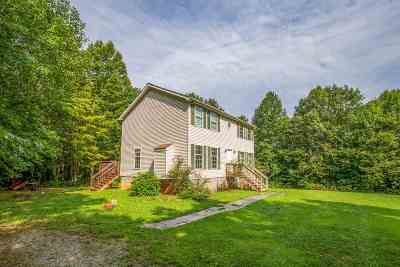 Fluvanna County Single Family Home For Sale: 332 Franklin Ln