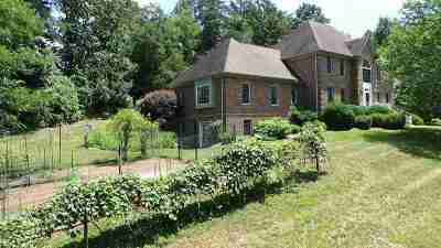 Charlottesville Single Family Home For Sale: 895 Old Ballard Rd