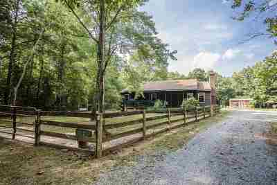 Louisa County Single Family Home For Sale: 287 Belle Meade Rd