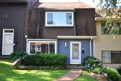 Charlottesville Townhome For Sale: 145 Woodlake Dr