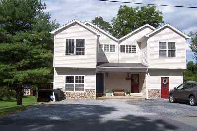 Waynesboro, Staunton Townhome For Sale: 80 Woodlee Rd #2