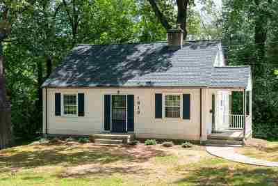 Charlottesville Single Family Home For Sale: 1613 Del Mar Dr