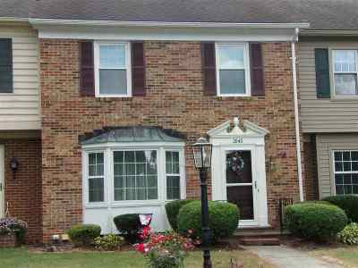 Townhome For Sale: 2845 Jefferson Lane