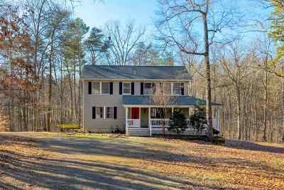 Scottsville Single Family Home For Sale: 1534 Briery Creek Rd