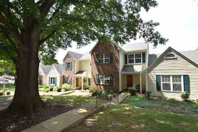 Charlottesville Townhome For Sale: 3276 Arbor Trace