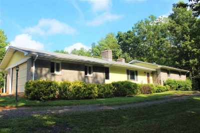 Single Family Home For Sale: 163 Arrington Mountain Rd