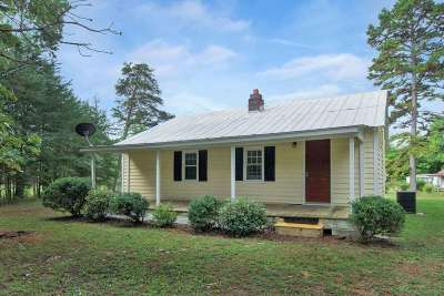 Scottsville VA Single Family Home For Sale: $110,000