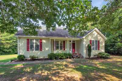 Scottsville VA Single Family Home For Sale: $231,900