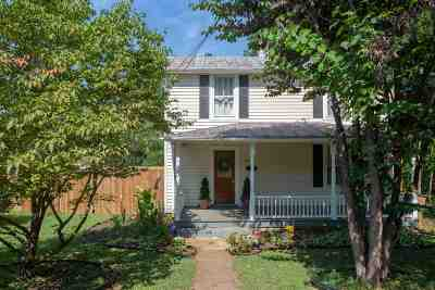 Charlottesville Single Family Home For Sale: 1411 Burgess Ln