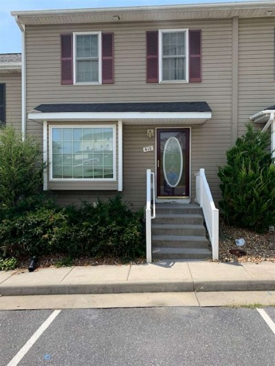 Harrisonburg Townhome For Sale: 418 Freedom Ct