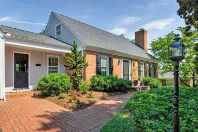 Charlottesville Single Family Home For Sale: 107 Westminster Rd